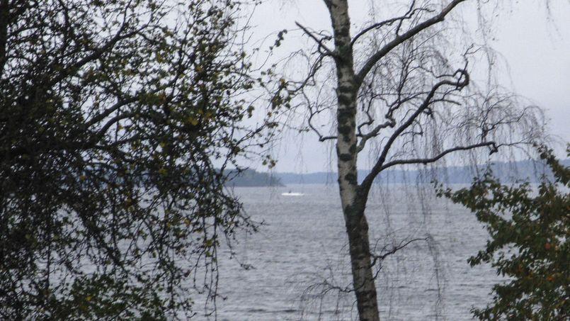 Photo fournie par l'armée suédoise dimanche, montrant une partie de l'objet suspect.