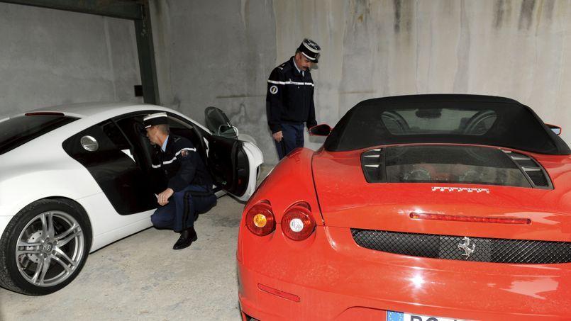 Des véhicules puissants saisisis par les policiers des Bouches du Rhônes.