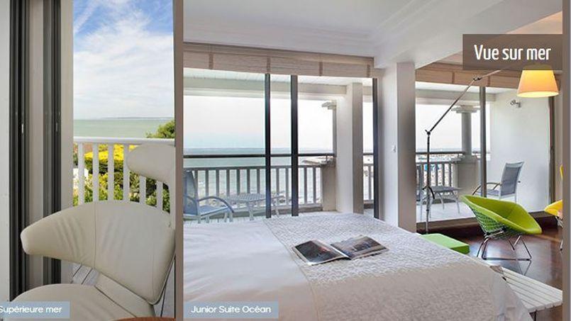 Capture d'écran du site de l'hôtel Anne de Bretagne à La-Plaine-Sur-Mer