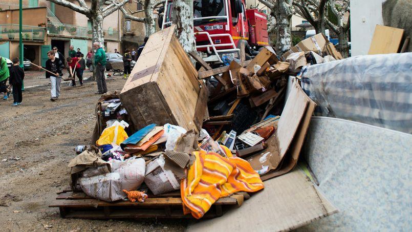Des innondations ont fait de gros dégâts dans la région de Montpellier début octobre.