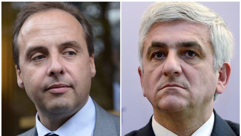 Dans le camp de Jean-Christophe Lagarde (à gauche), on justifie ces critiques très dures du camp Morin (à droite) par de la «nervosité».