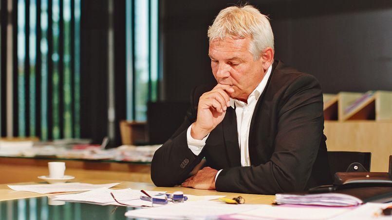 Thierry Lepaon, secrétaire général de la CGT.