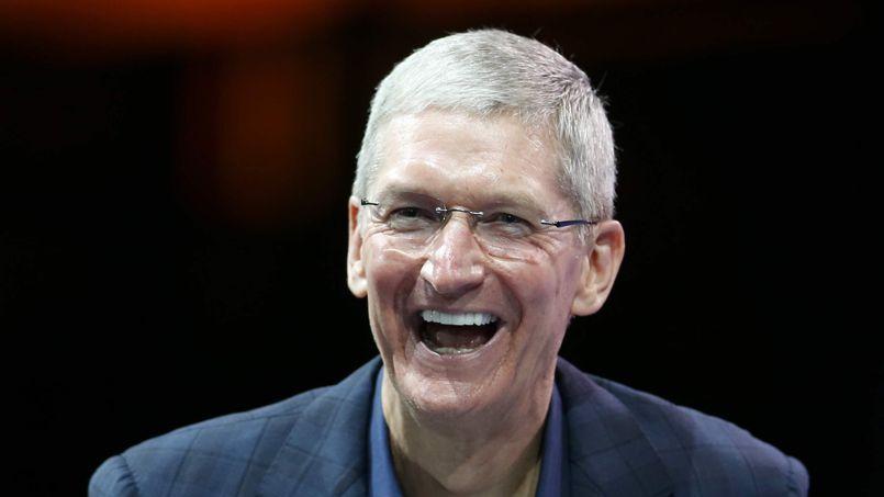 Tim Cook est PDG d'Apple depuis 2011.