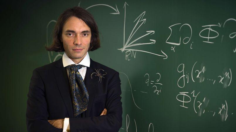 Cédric Villani, l'auteur du projet du Musée des mathématiques.