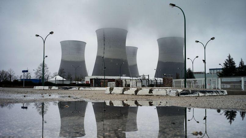 La centrale de Bugey à Saint-Vulbas.