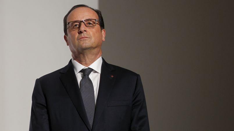 François Hollande, en octobre, lors de l'inauguration de la Fondation Louis Vuitton dédiée à l'art contemporain.
