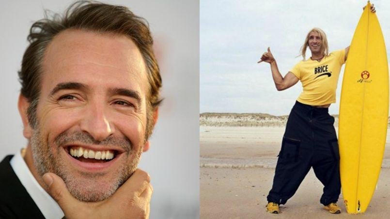 Jean dujardin fantasme sur le retour de brice de nice for Acteur jean dujardin