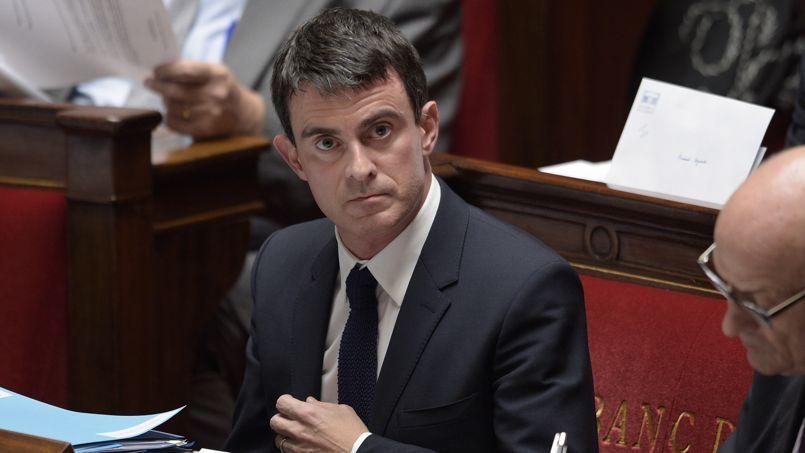 Manuel Valls ce mardi.