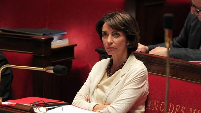 Marisol Touraine, ministre de la Santé, à l'Assemblée nationale (Crédit: Sébastien SORIANO / LE FIGARO)