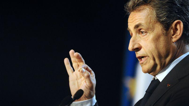 Nicolas Sarkozy lundi à Nancy.