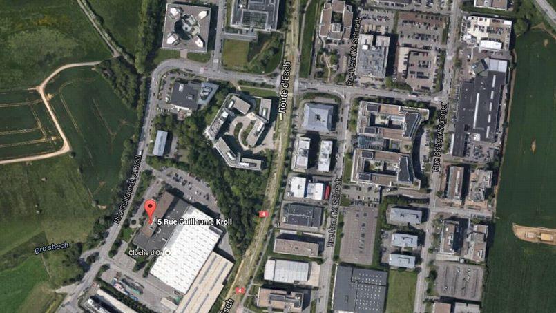 Le 5, rue Guillaume Kroll héberge pas moins de 1.600 compagnies.