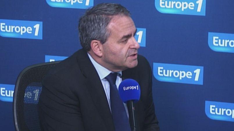 Xavier Bertrand sur Europe 1.