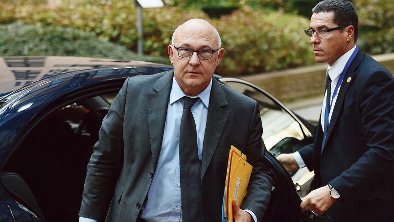 Le ministre de l'Économie Michel Sapin, le 6 novembre à Bruxelles.