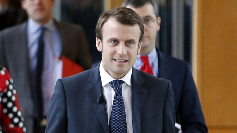 Emmanuel Macron, ministre de l'Économie, de l'Industrie et du Numérique.