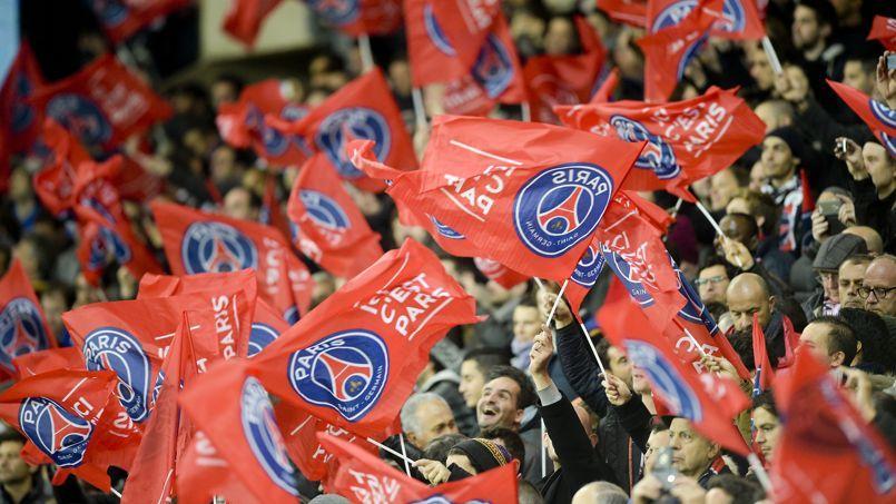 Les supporters du PSG lors de la rencontre face à l'OM, dimanche dernier.