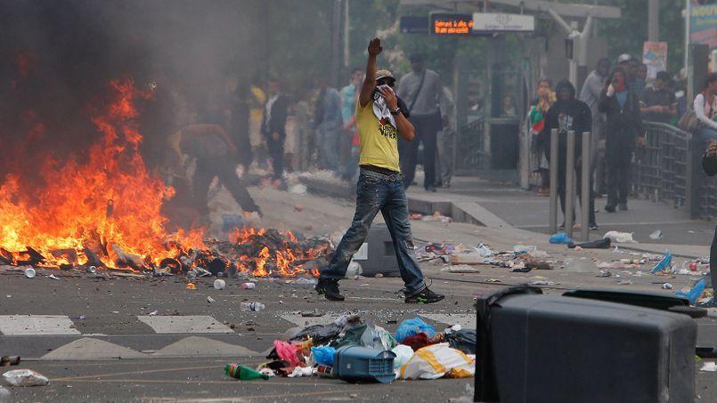 Manifestation pour la Palestine, à Paris, en juillet dernier.