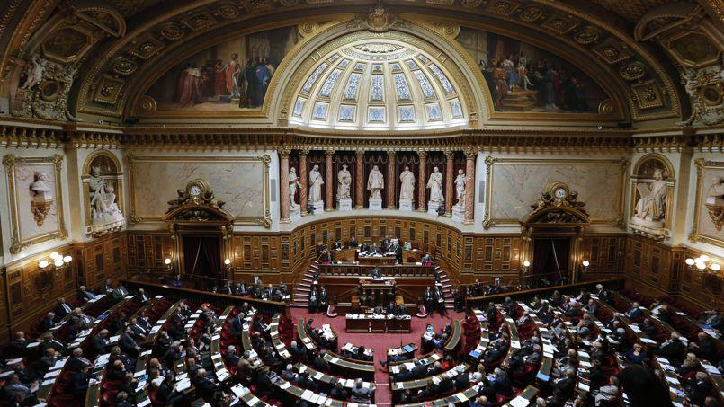 La droite est majoritaire au Sénat depuis les dernières élections d'octobre.