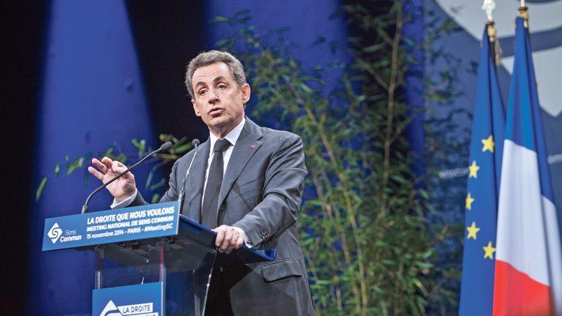 Nicolas Sarkozy était invité samedi à un débat organisé par Sens commun, une association née au sein de l'UMP dans le sillage de la Manif pour tous.