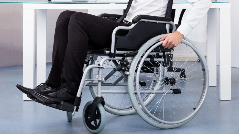 Le taux de chômage des travailleurs handicapés attent 22%, le double de celui des personnes valides.