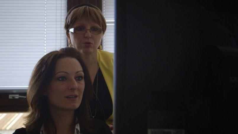 Une conseillère de l'agence de Livry-Gargan, dans le film de Nora Philippe.