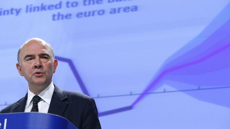 Pierre Moscovici, Commissaire européen aux Affaires économiques.