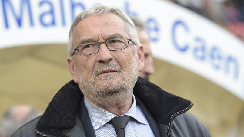 Jean-François Fortin, le président de Caen