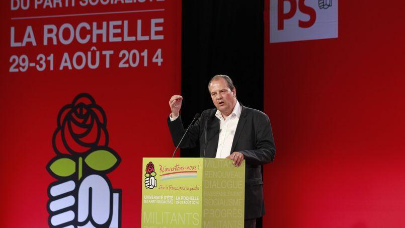 Jean-Christophe Cambadélis, lors des Universités d'été du Parti socialiste.