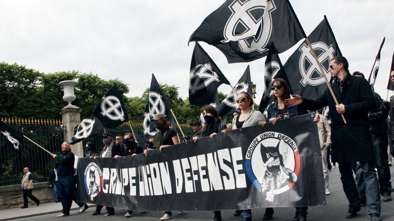 Les membres du GUD lors d'une manifestation en 2011.
