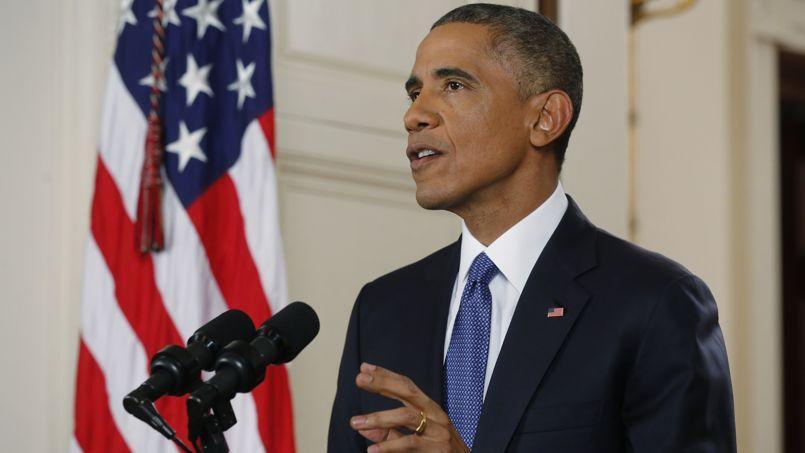 Barack Obama présente son plan, le 20 novembre, à la Maison Blanche.