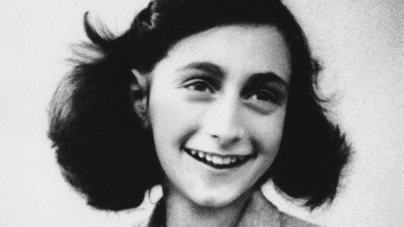 La jeune Anne Frank, auteur du célèbre Journal.