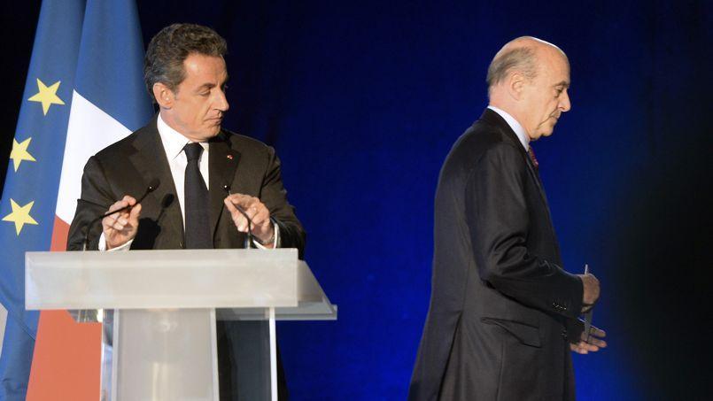 Nicolas Sarkozy et Alain Juppé samedi à Brodeaux