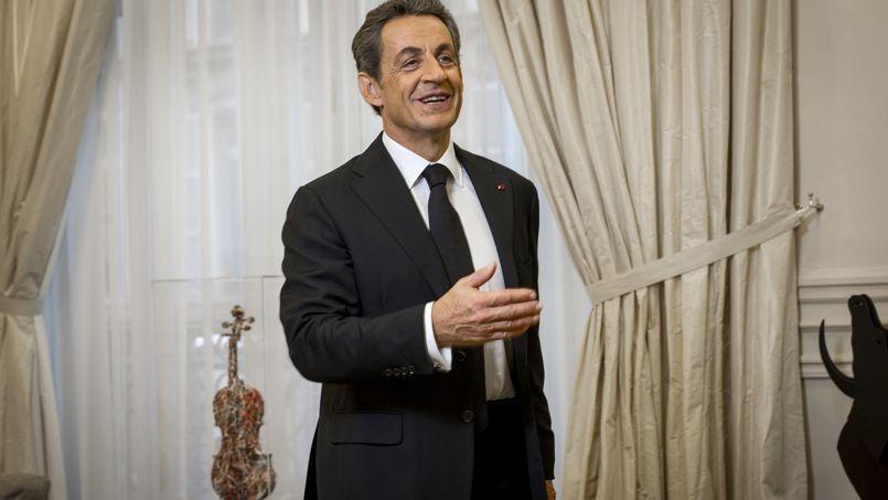 L'ancien président de la République a reçu le  Figaro dans son bureau parisien, lundi.