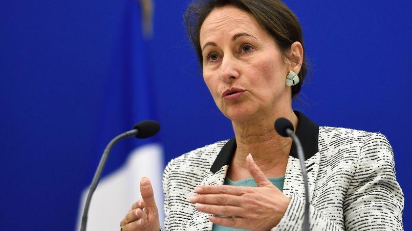 La ministre de l'Écologie et de l'Énergie, le 4 novembre à Paris.