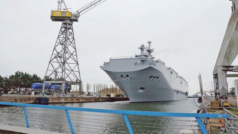 Le Vladivostok, le 24 novembre à Saint-Nazaire.