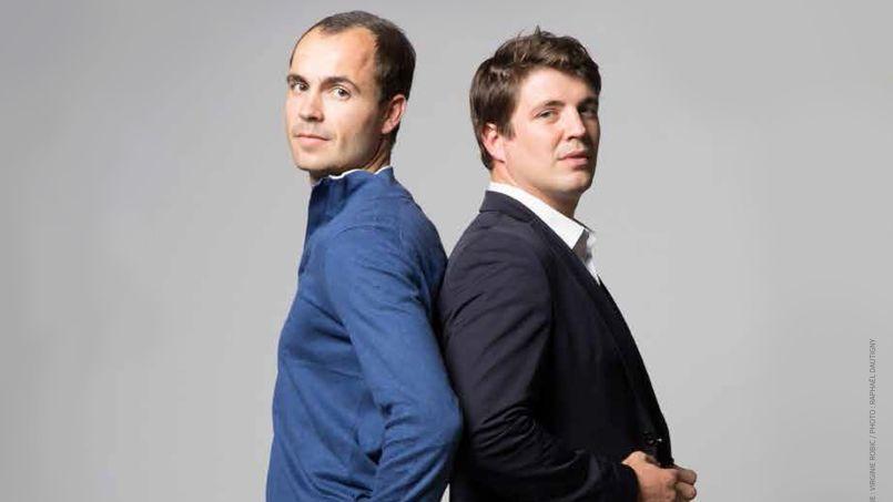 Pierre-Henri Deballon & Sébastien Tonglet, deux des fondateurs de Weezevent.