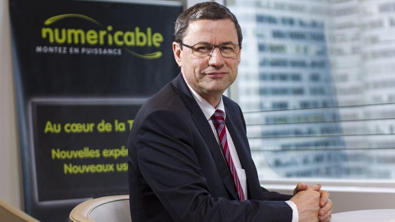 Éric Denoyer, nouveau directeur général de Numericable-SFR.