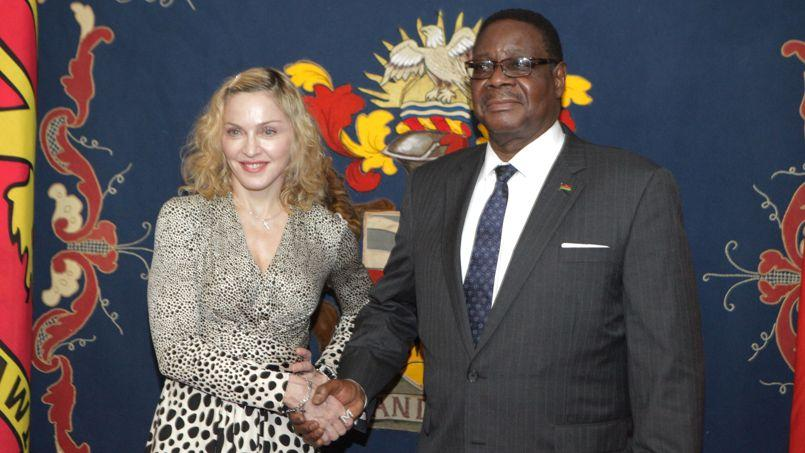 Madonna accueillie en grande pompe au Malawi