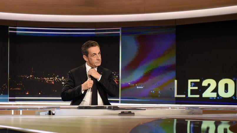 Nicolas Sarkozy, sur TF1 dimanche soir.