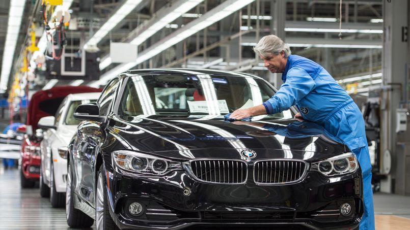 Usine de BMW à Regensburg, dans le sud de l'Allemagne (photo AFP)
