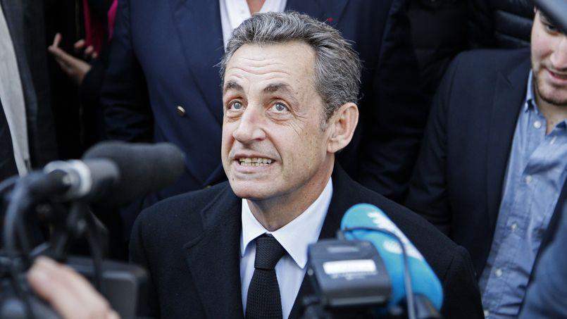 Nicolas Sarkozy, nouveau président de l'UMP