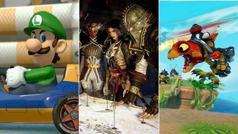 Mario, Dragon Age ou Skylanders, il y en a pour tous les âges.