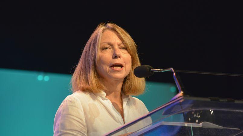Jill Abramson (le 16 octobre, à Philadelphie) se voit comme «la porte-parole du slow journalism».