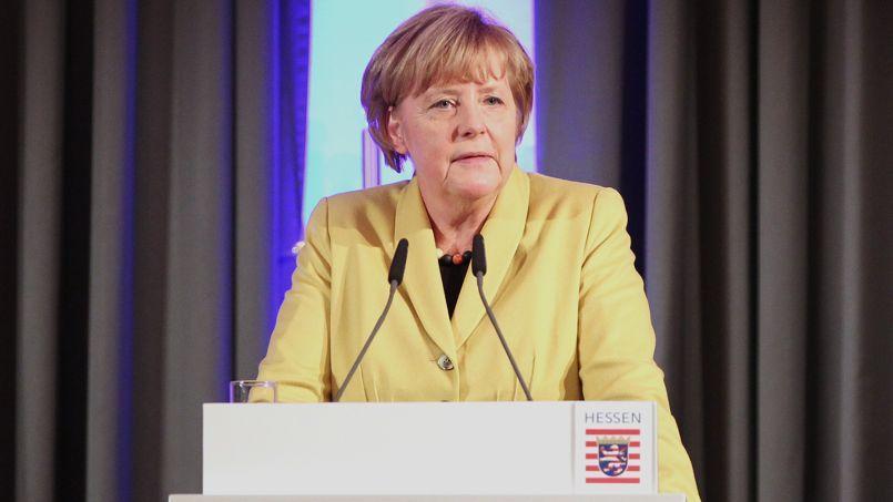 Angela Merkel, le 28 novembre.