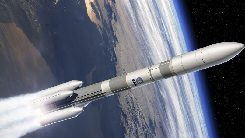 Image de synthèse d'Ariane 6.