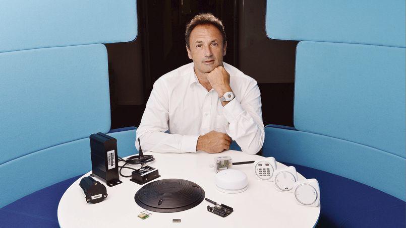 Ludovic Le Moan, patron et fondateur de Sigfox.