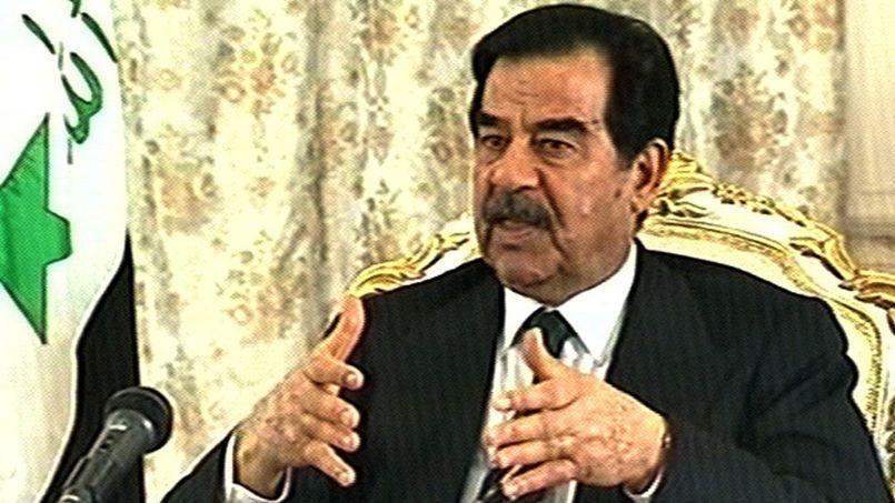 Saddam Hussein, en 2003.