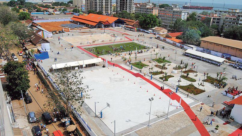 La Bluezone de Conakry, en Guinée.