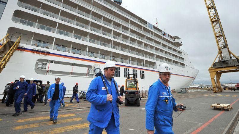 Le chantier naval STX France a déjà embauché 220 personnes en CDI depuis avril2013.