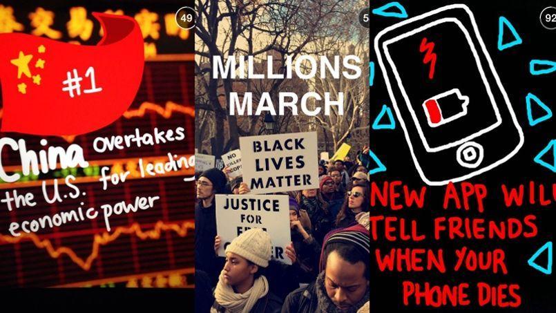 Des selfies à Ferguson, comment Snapchat se met à l'info