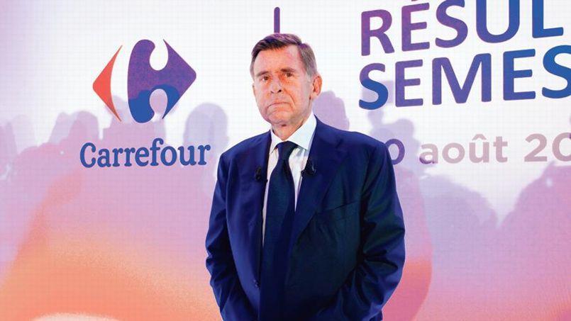 Georges Plassat, PDG de Carrefour.